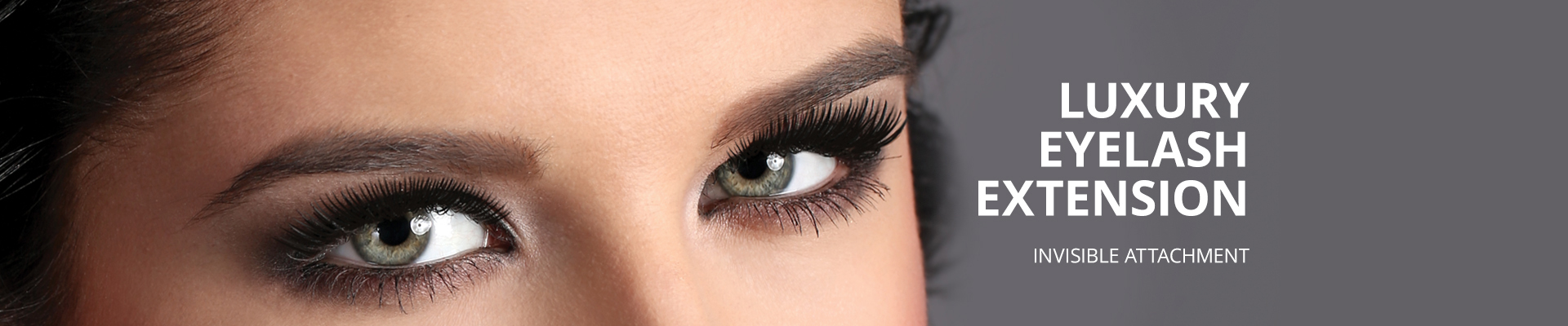Luxury Eyelash Extension - Invisible attachment
